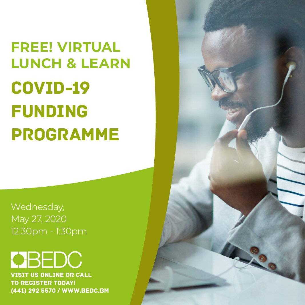 Lunch & Learn: Covid 19 Funding Programme
