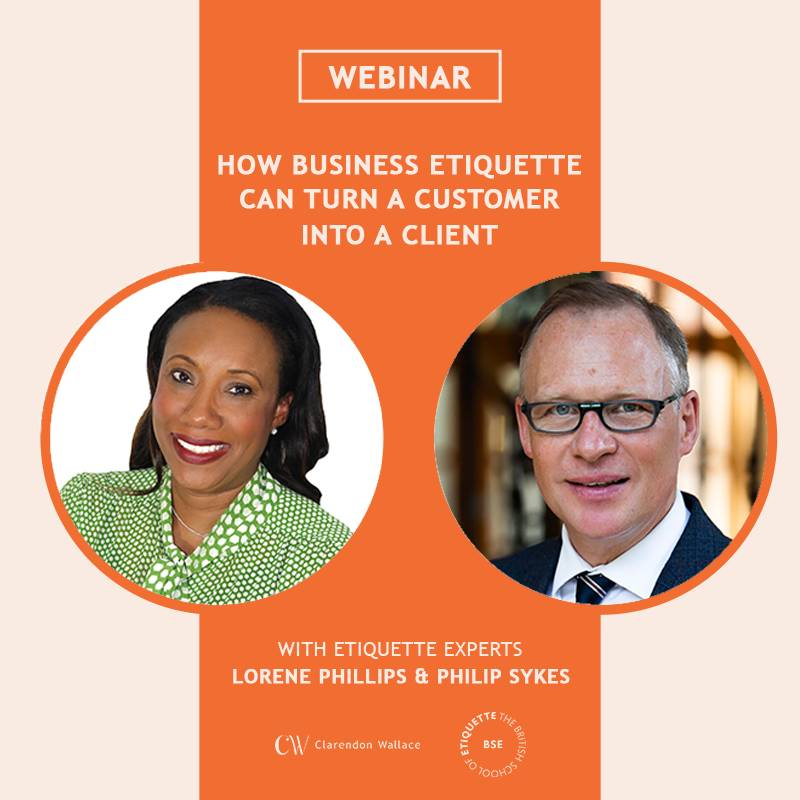 How Business Etiquette Can Turn a Customer into a Client