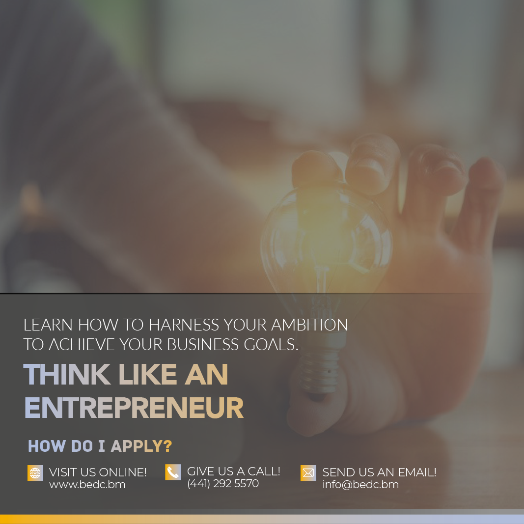 THINK LIKE AN ENTREPRENEUR COURSE TO BEGIN IN FEBRUARY