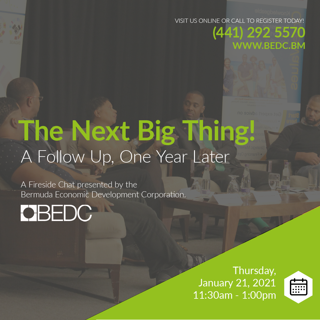 The Next Big Thing Panel Discussion with the Hon. Premier