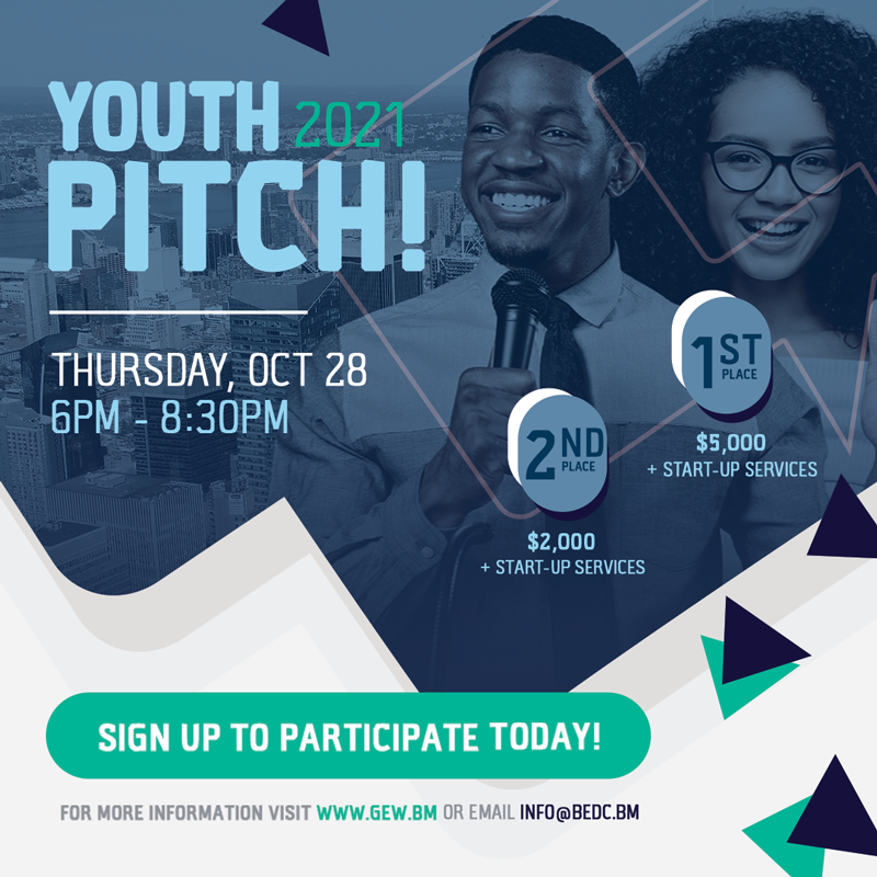BEDC SEEKS YOUTH ENTREPRENEURS FOR THE 2021 YOUTH PITCH COMPETITION